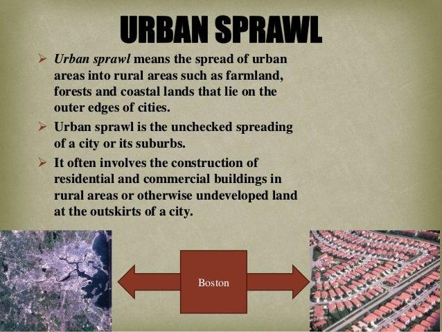 compact cities vs  urban sprawl
