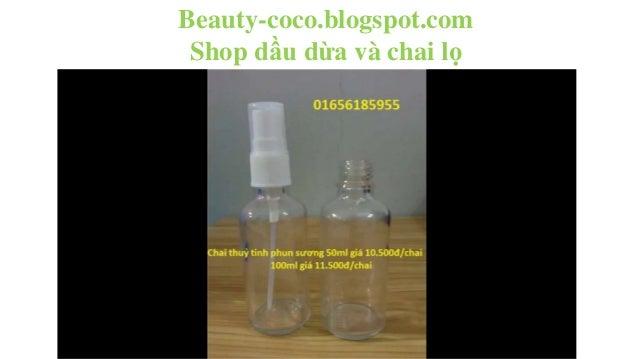 Beauty-coco.blogspot.com Shop dầu dừa và chai lọ