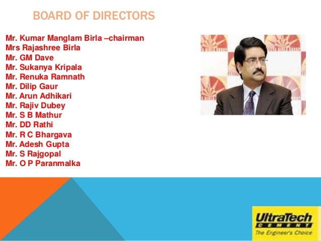 presentation on ultratech cement limited