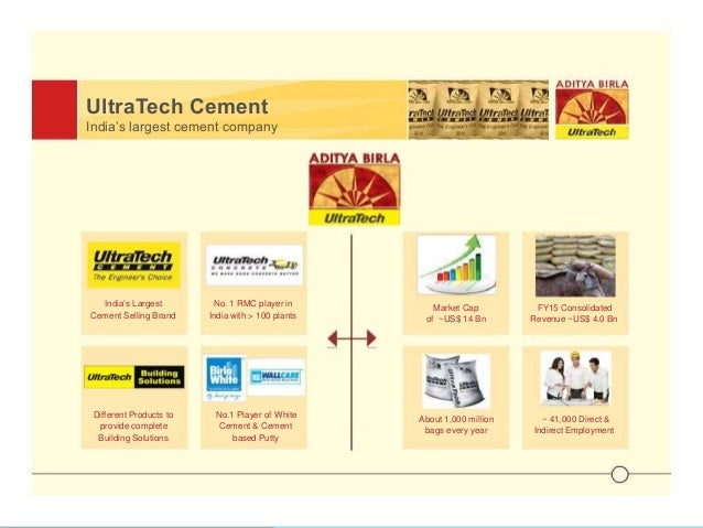 Ultratech Cement Bag Types : Presentation on ultratech cement limited