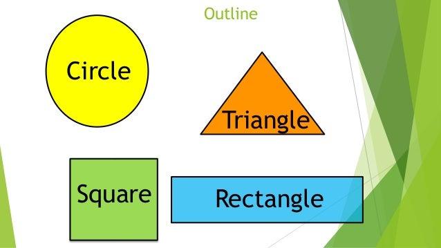 Shapes lesson for Kindergarten 2 students