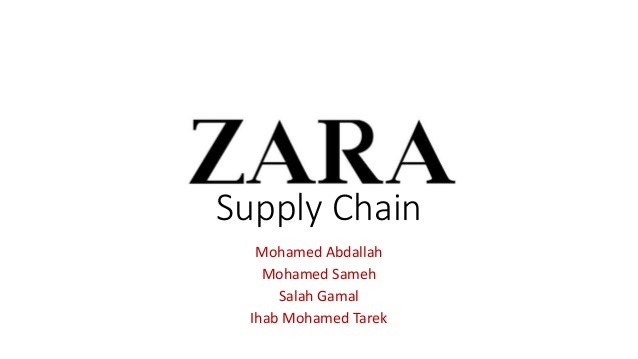 zaras supply chain managment However zara's supply chain management practises are an exception zara can take a new design from drawing board to retail store in as little as three weeks this has primarily been due to the underlining fact that speed can substitute for inventory faster reaction.
