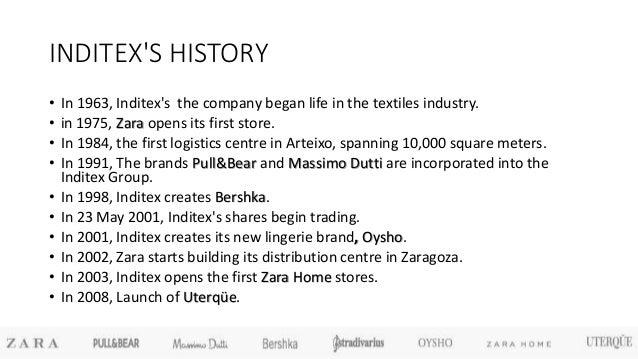 The History of Zara