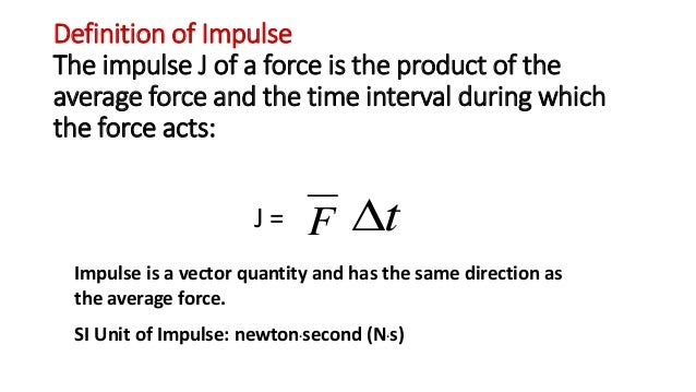Application Of Impulse Momentum Equation