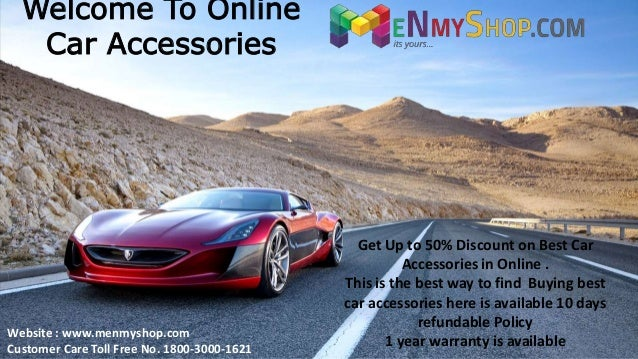Amazing Car accessories at 55% discounted Price | menmyshop.com