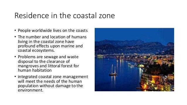 socio-economic impact and its assessment in coastal zone
