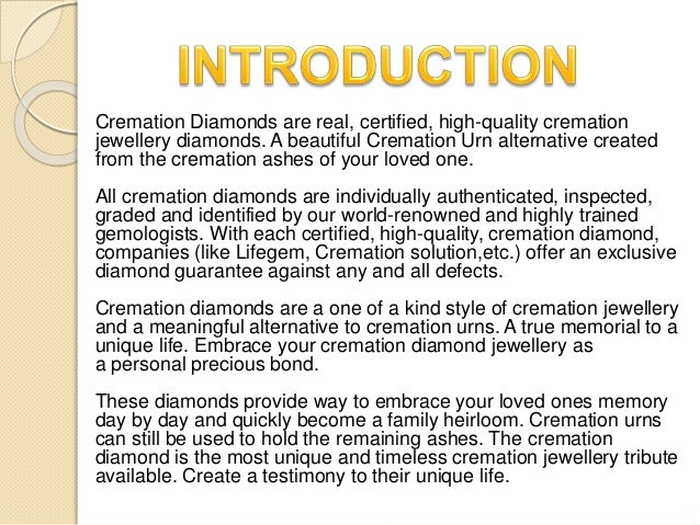 Preparation Of Cremation Diamonds Dna 2 Diamonds Chemistry Investi