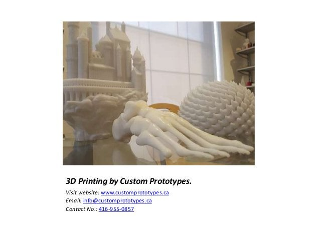 3D printing Service Company,Toronto.