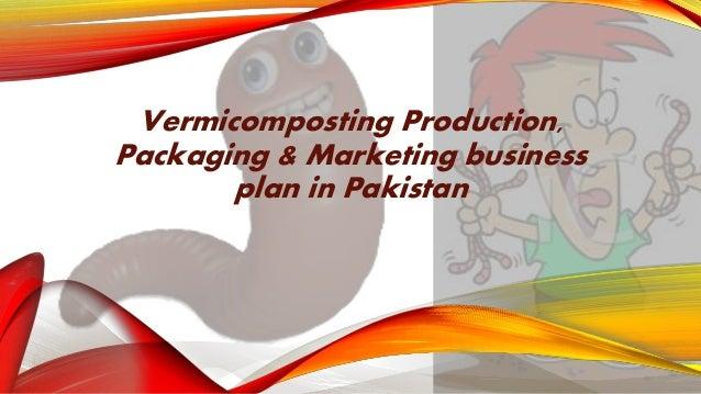 Vermicompost business plan