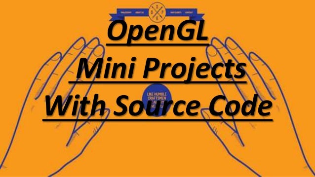 OpenGL Mini Projects With Source Code [ Computer Graphics ]