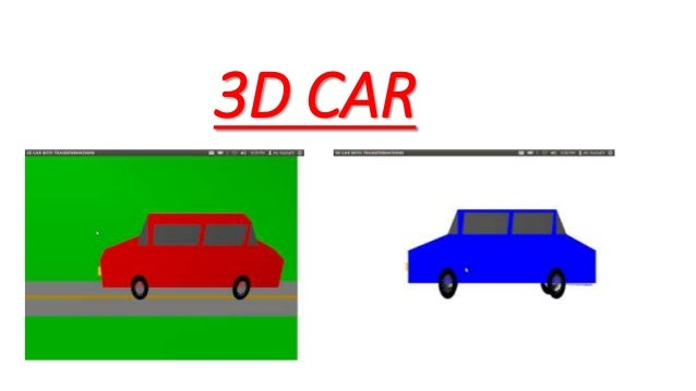 3d projects in opengl