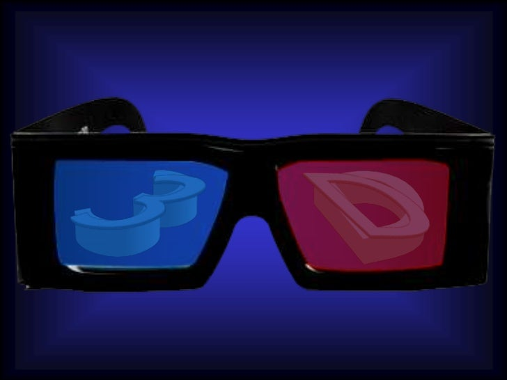 3D Glasses PPt