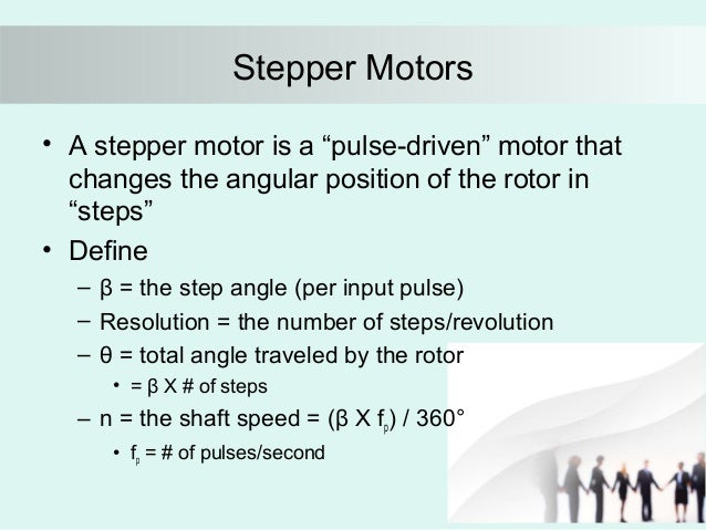 Stepper ...