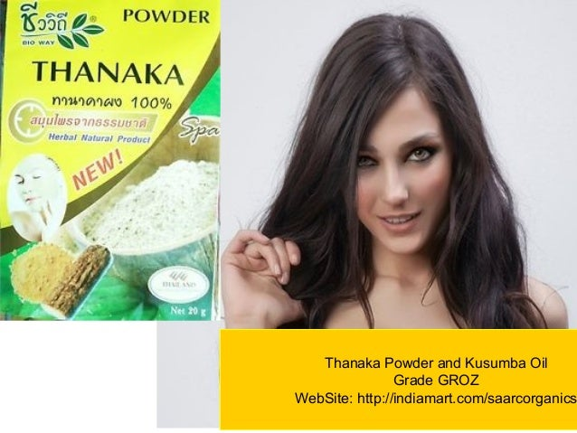 Thanaka Powder Groz Variant Permanent Hair Removal