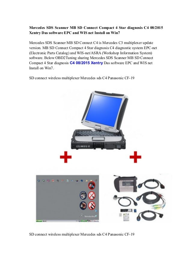 mercedes sds scanner mb sd connect compact 4 star. Black Bedroom Furniture Sets. Home Design Ideas