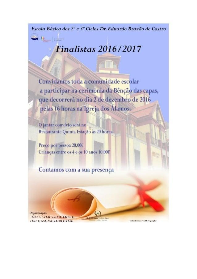 Finalistas 2016-2017