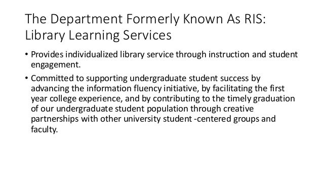 New model for public service in academic libraries fandeluxe Gallery