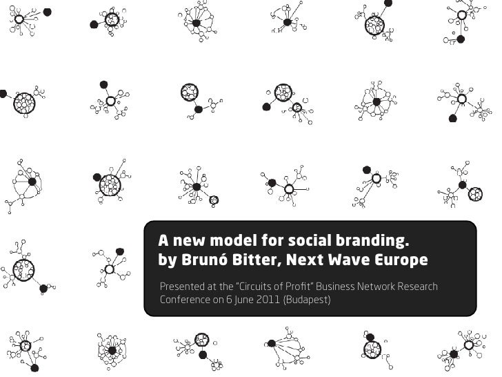 "Social          NetworksA new model for social branding.by Brunó Bitter, Next Wave EuropePresented at the ""Circuits of Pro..."