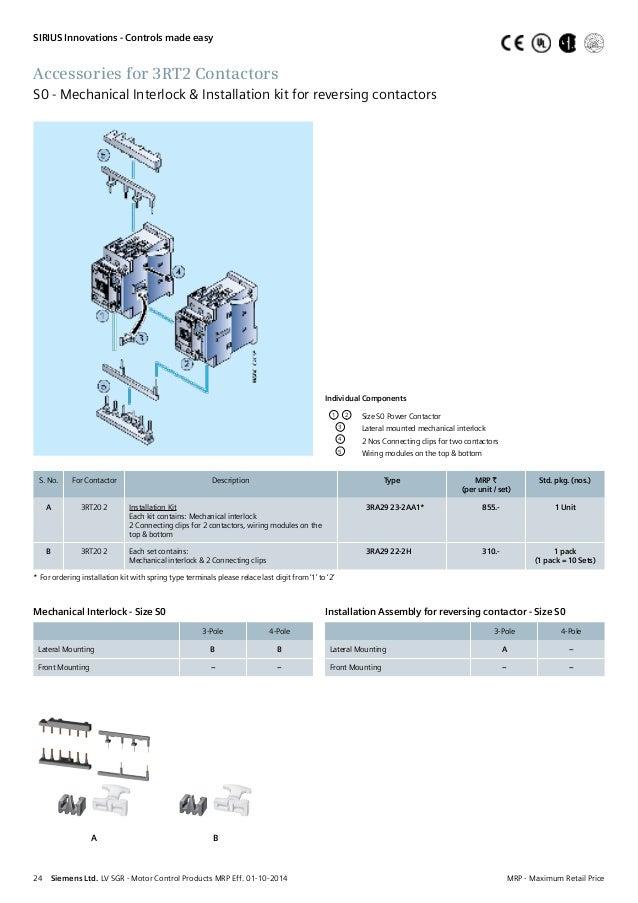 Siemens Reversing Contactor Wiring Diagram - Somurich.com