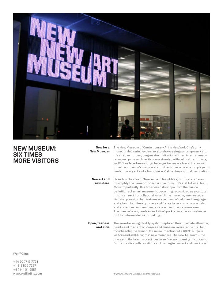 NEW MUSEUM:             New for a                      New Museum                                       The New Museum of ...