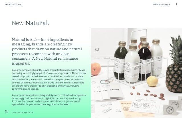 New Natural: The Next Generation of Conscious Consumerism Slide 2