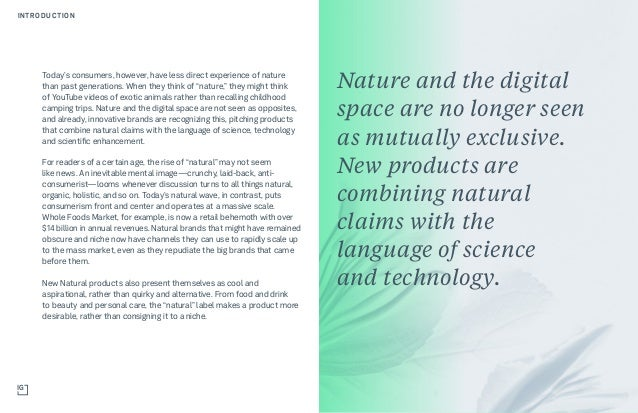 New Natural: The Next Generation of Conscious Consumerism Slide 3