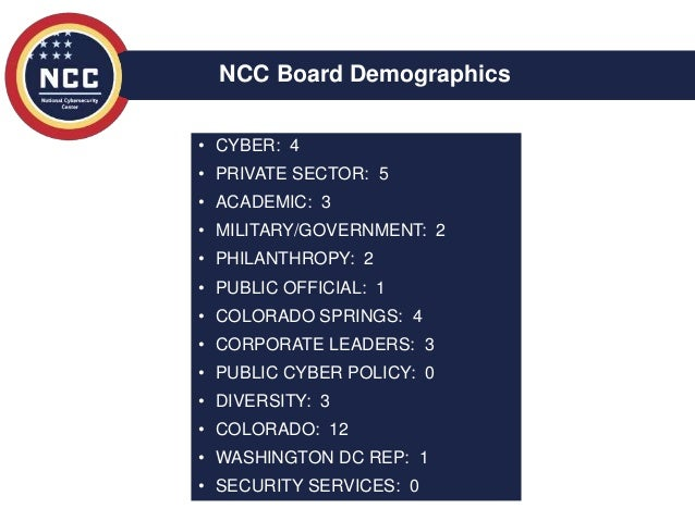 Ed Rios - New ncc brief