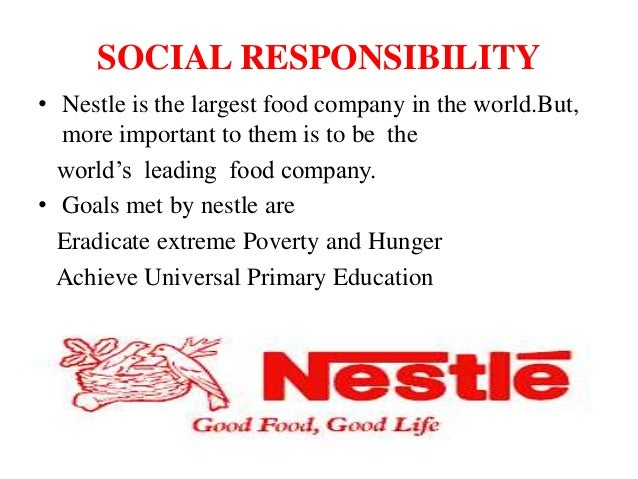 goals and objectives of nestle company What are the main objectives of toyota's business strategy a: some key points of nestle's business strategy are: those objectives include setting goals, maki.