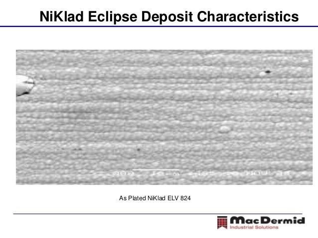 Black Electroless Nickel - NiKlad Eclipse