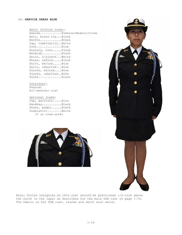 Female dress blue alphas medal placement on blues