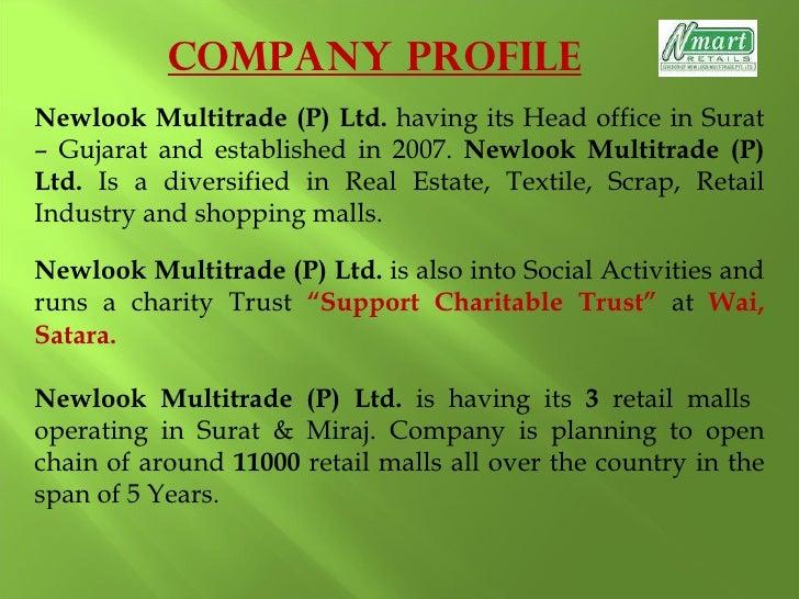 nmart business plan
