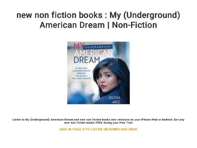 I Had Dreams: Nonfiction