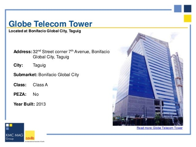 Modern work life in taguig city new office spaces - Globe main office address ...