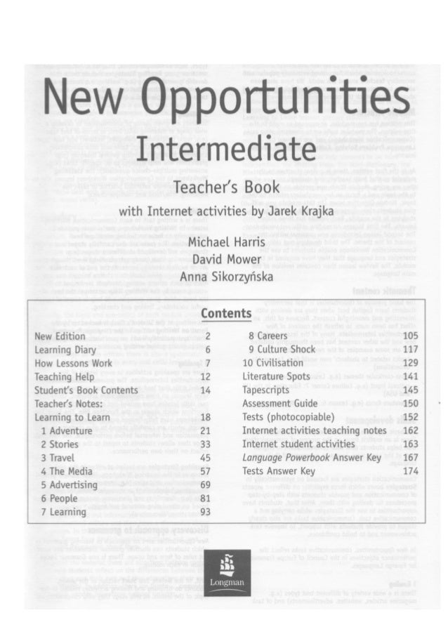 Opportunities intermediate teacher book new opportunities intermediate teacher book fandeluxe Gallery