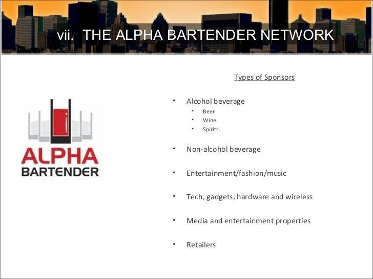 <ul><li>Types of Sponsors </li></ul><ul><li>Alcohol beverage </li></ul><ul><ul><li>Beer </li></ul></ul><ul><ul><li>Wine </...