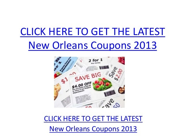 New Orleans Coupons >> New Orleans Coupons 2013 Printable New Orleans Coupons 2013
