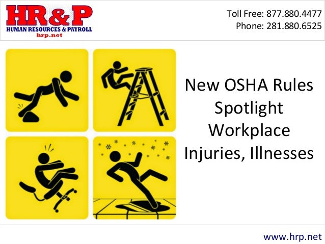 injuries and illnesses in the workplace The national institute for occupational safety and health (niosh) note: javascript is disabled or is not supported by your browser for this reason, some items on this page will be unavailable.
