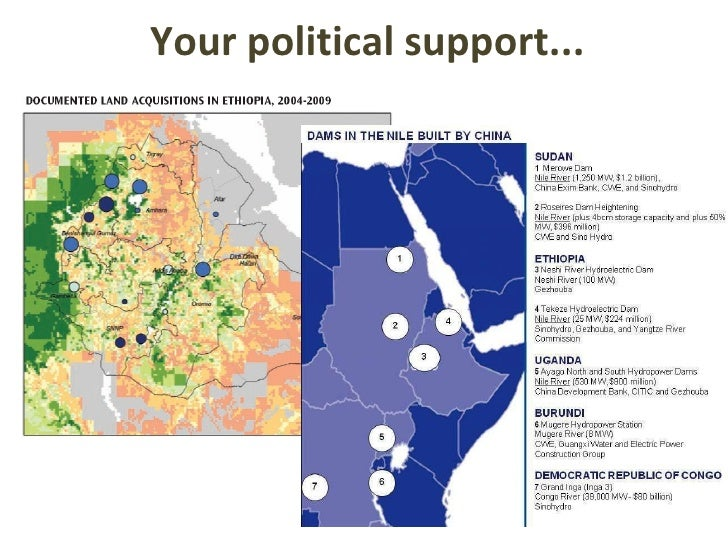 Your political support...