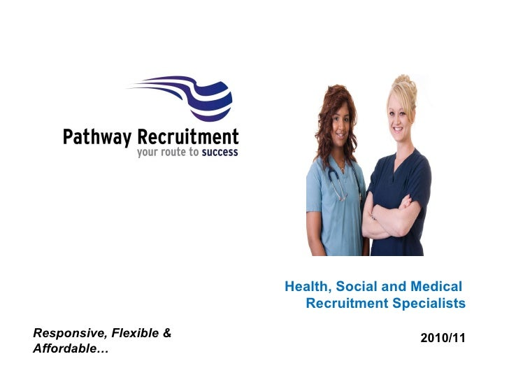 Health, Social and Medical  Recruitment Specialists 2010/11 Responsive, Flexible & Affordable…