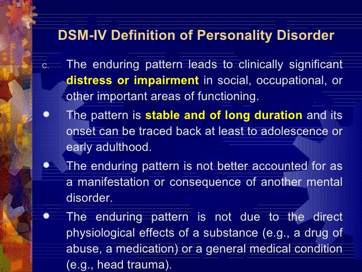 a description of the borderline personality disorder and its assesment Screening for personality disorder with the standardised assessment of personality: abbreviated scale (sapas): further evidence of concurrent validity.