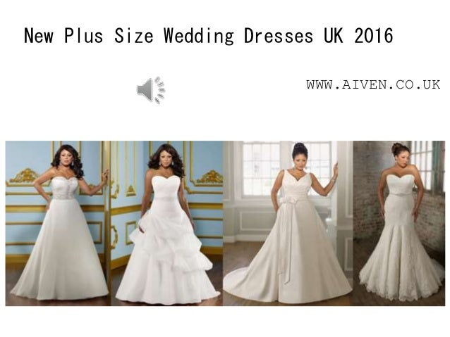 New Plus Size Wedding Dresses UK 2016 WWW.AIVEN.CO.UK
