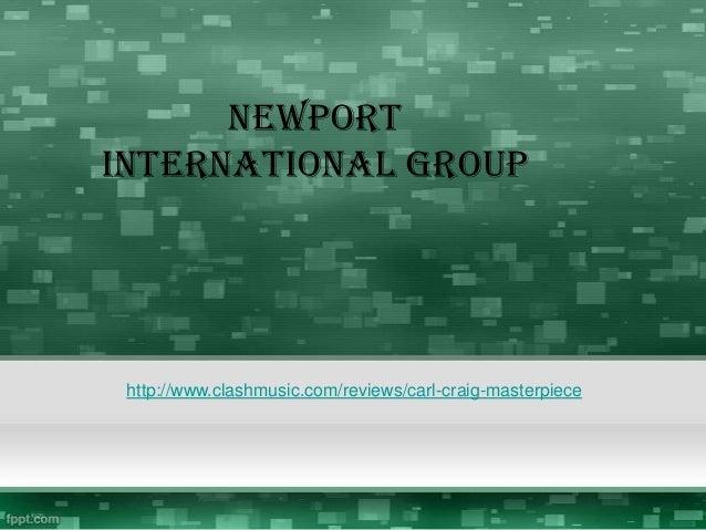 NewportInternational Grouphttp://www.clashmusic.com/reviews/carl-craig-masterpiece