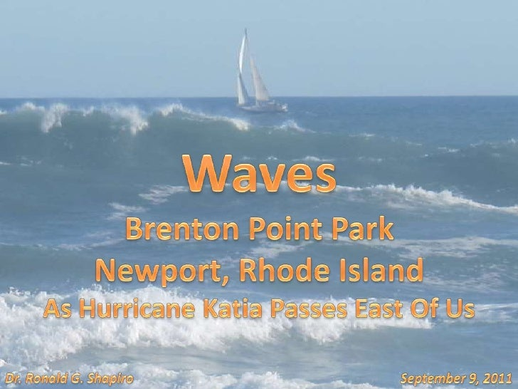 Waves At<br />Brenton Point State Park<br />Newport, Rhode Island<br />One Day After Hurricane Irene<br />August 29, 2011<...