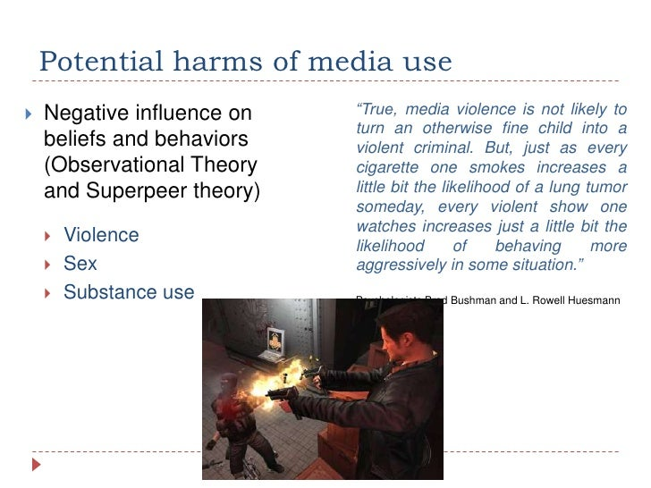 The hypothesis that violence in the mass media has produced more violent behaviors