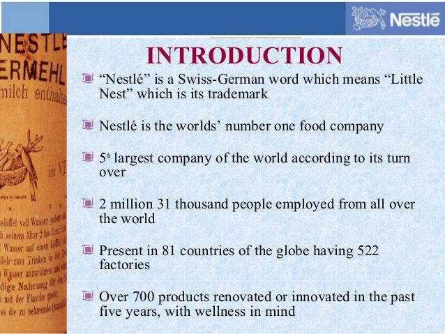 recommendation to nestle company Nestle sa (nesn:vtx) forecasts: consensus recommendations, research reports, share price forecasts, dividends, and earning history and estimates.