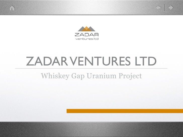 Zadar Ventures Ltd
