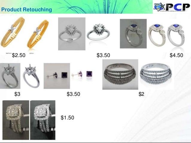 Product Retouching $2.50 $3.50 $4.50 $3 $3.50 $2 $1.50