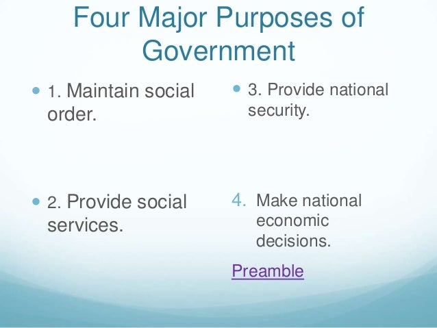 chapter 1 national government Chapter 4: the formation of a national government an outline of american history every man and every body of men on earth, possess the right of self-government.
