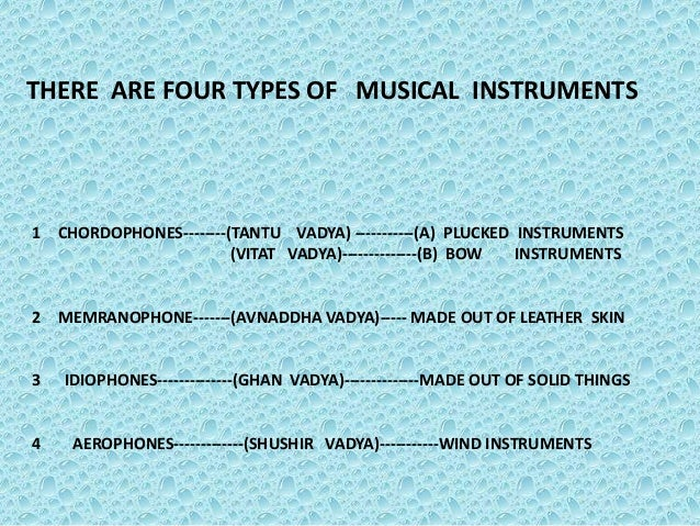 Printables 4 Classification Of Musical Instruments presentetion on different types of musical instruments india 4