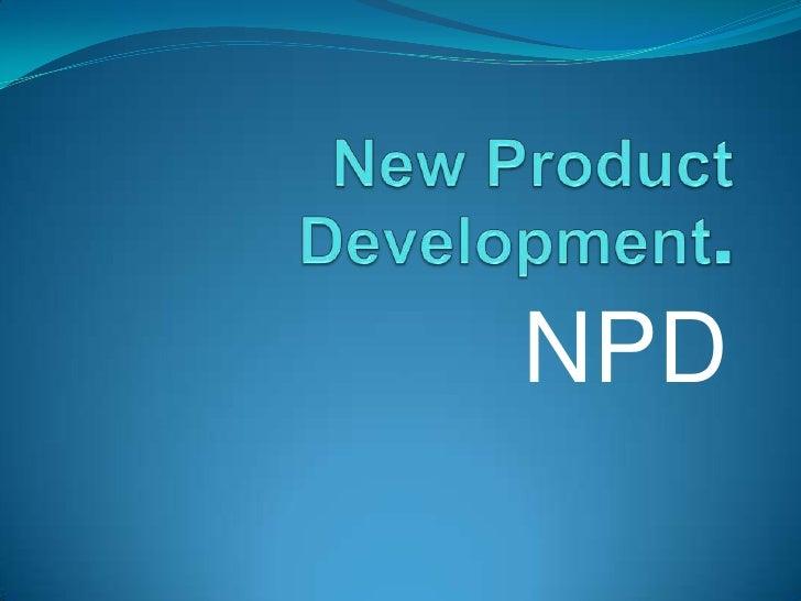 Marketing/Product Development